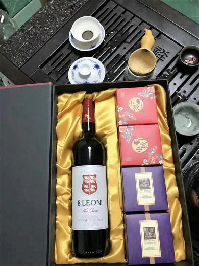 Chinese Tea meets DeLavalle wines