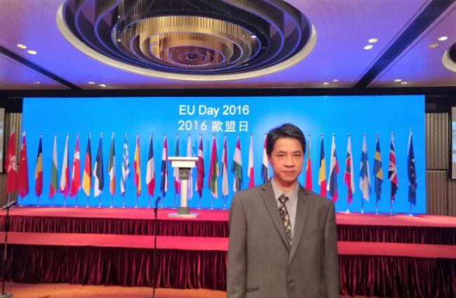 DeLavalle is invited at Euroday 2016 in Hong Kong