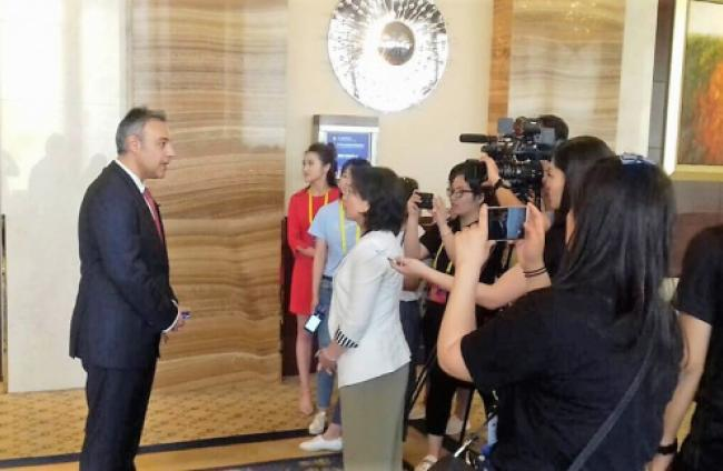 President of Mati Fortuna winery interview to CCTV Beijing
